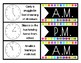 2.MD.7 - Telling Time - a.m. OR p.m. Memory Match Game
