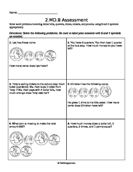 2.MD.8 Assessment