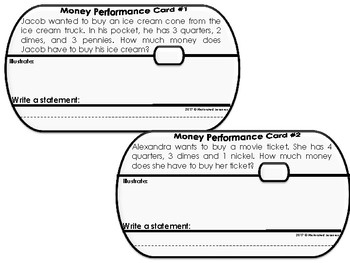 2.MD.8 Money Word Problems (Interactive Journal)