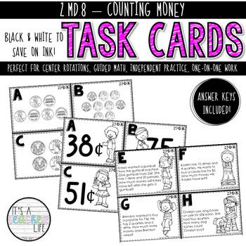 2.MD.8 Task Cards | Money