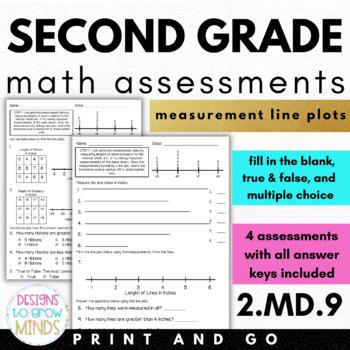 2.MD.9 Assessments- Measurement Line Plots