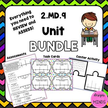 2.MD.9 Unit Bundle- Measurement Line Plots