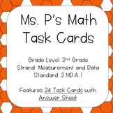 2.MD.A.1 Measuring Lengths Task Cards