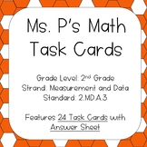 2.MD.A.3 Estimating Lengths (inches, centimeters, feet, meters) Task Cards