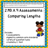 2.MD.A.4 Assessments - Comparing Lengths