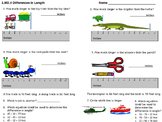 2.MD.A.4 Measurement Assessment - Differences in Length of Objects
