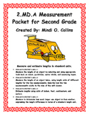 2.MD.A Math Packet for Second Grade (Measurement)
