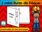 2 PETITS LIVRES DE PÂQUES (FRENCH READERS)