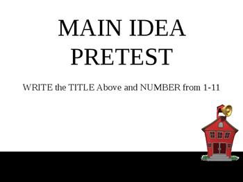 Main Idea - Complete Teacher Lesson on PowerPoint