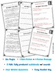 Martin Luther King Jr. Reading: Black History Month Activities: Paired Passages
