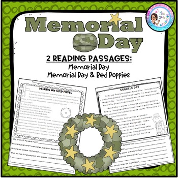 2 Memorial Day Passages with Questions