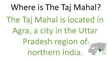 002. Micro Lesson -The Taj Mahal