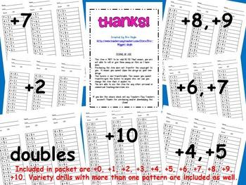 2-Minute Math Drills Complete Set