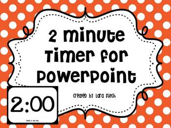 Timer For Powerpoint Worksheets & Teaching Resources | TpT
