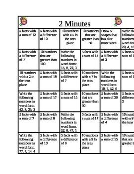 2 Minutes Math