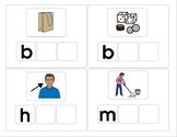 2 Missing Letters CVC Words Set 2