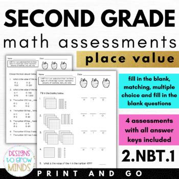 2.NBT.1 Assessments-Place Value