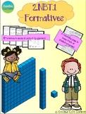 2.NBT.1 Second Grade Math Formatives