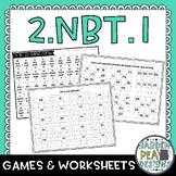 2.NBT.1 Games and Worksheets