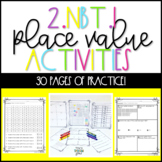2.NBT.1 Place Value Second Grade Activities