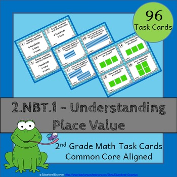 2 nbt 1 task cards place value task cards 2 nbt 1 2nd grade math task cards. Black Bedroom Furniture Sets. Home Design Ideas