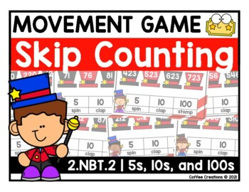 2.NBT.2 - Skip Counting Movement (5s, 10s, and 100s)