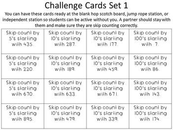 2.NBT.2 Skip Counting Math Field Day