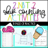 2.NBT.2 Skip Counting Second Grade Activities