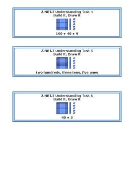 2.NBT.3 Build It Draw It Base 10 Models