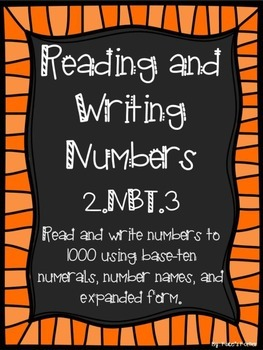 2.NBT.3 Reading and Writing Numbers