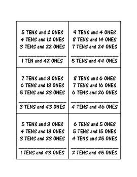2.NBT.3- Tens and Ones