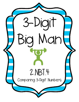2.NBT.4 Comparing Three-Digit Numbers Game!