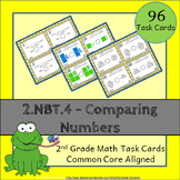 2.NBT.4 Task Cards: Comparing Numbers Task Cards 2.NBT.4: Greater or Less Than