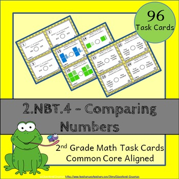2.NBT.4 Task Cards: Comparing Numbers Task Cards 2.NBT.4: