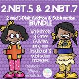 2.NBT.5 & 2.NBT.7 2 & 3 Digit Addition & Subtraction Strat