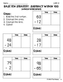 2.NBT.5 Add and Subtract Using Base Ten and Expanded Form Strategies BUNDLE