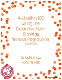 2.NBT.5 Adding within 100 using the Expanded Form Strategy