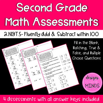 2.NBT.5 Assessments- Adding and Subtracting Fluently within 100
