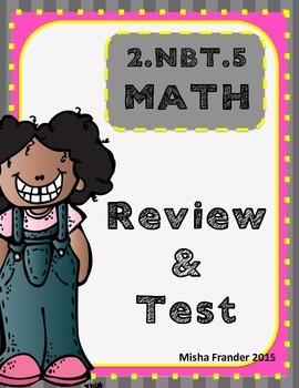 2.NBT.5 REVIEW & TEST
