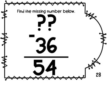 2.NBT.5 Task Cards- Two Digit Addition & Subtraction With and Without Regrouping