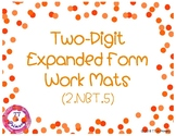 2.NBT.5 Two-Digit Expanded Form Work Mats