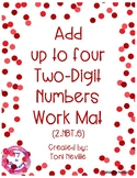 2.NBT.6 Add up to Four Two-Digit Numbers Work Mat
