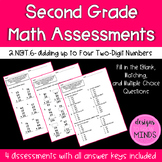 2.NBT.6 Assessments- Adding up to Four Two Digit Numbers