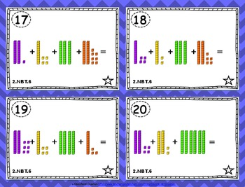 2.NBT.6 Task Cards: Adding Two-Digit Numbers Task Cards 2NBT6: 2-Digit Addition