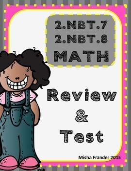 2.NBT.7 & 2.NBT.8 TEST