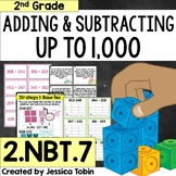 2.NBT.7 Add and Subtract Within 1,000 3-Digit Addition and Subtraction 2.NBT.B.7