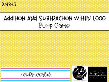 2.NBT.7 Addition and Subtraction Bump