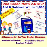 2.NBT.7 Math Interactive Test Prep – ADD / SUBTRACT WITHIN