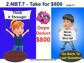 2.NBT.7 THINK ON YOUR FEET MATH! Interactive Test Prep—ADD/SUBTRACT WITHIN 1,000