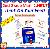 2.NBT.7 Interactive Test Prep - Jeopardy 2nd Grade Math: WITHIN 1,000